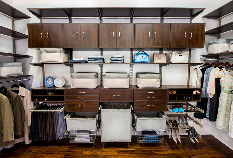 Transform The Look And Function Of Any Storage Space Simply By Moving Or  Adding Hang Space, Shelves, And Baskets.