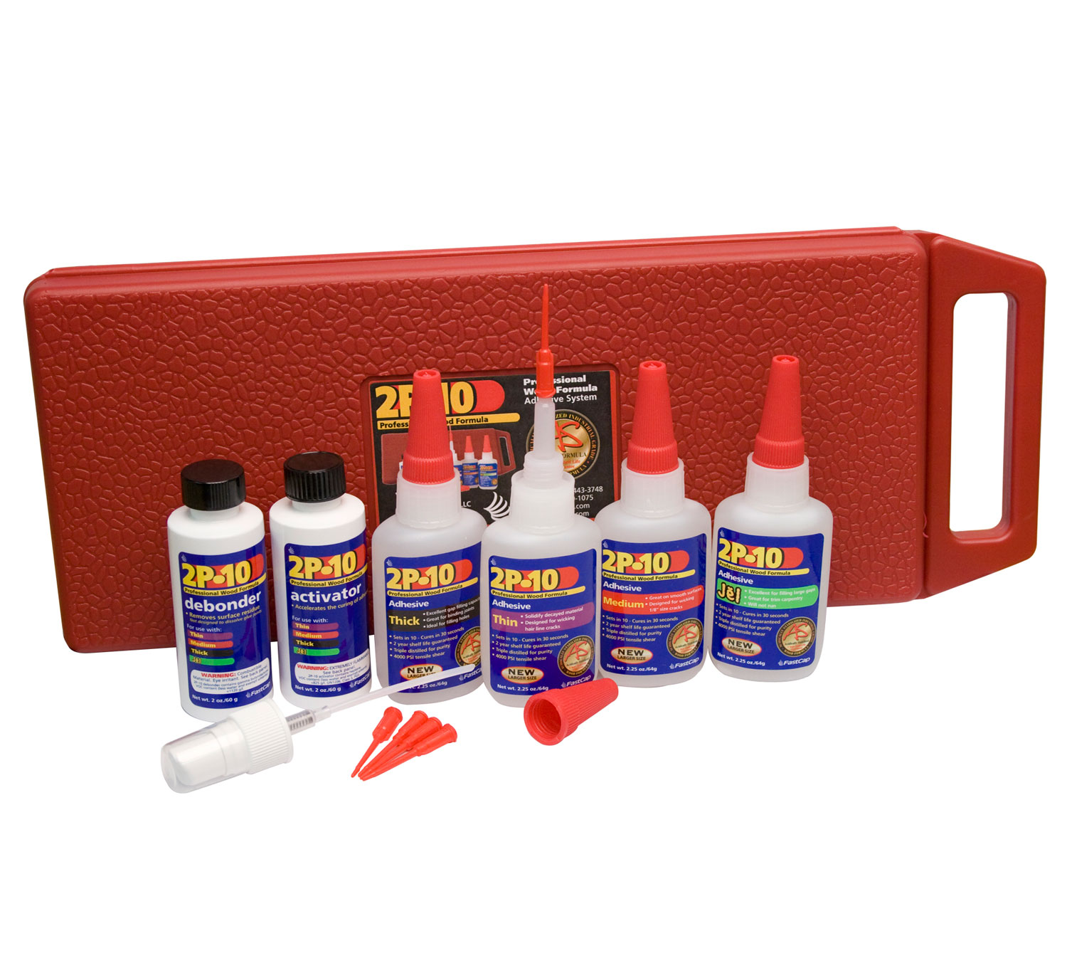 Fastcap 2p 10 Adhesive Kit W Case Lds Amp S Specialty