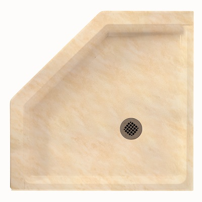Swan 38 Quot Neo Angle Shower Floor Lds Amp S Specialty Wholesalers