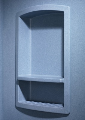 Swan Recessed Shampoo Shelf Lds Amp S Specialty Wholesalers