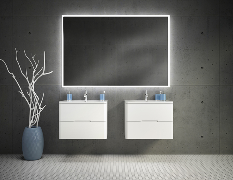 Fleurco Luna Halo Lighted Mirrors Lds Amp S Specialty
